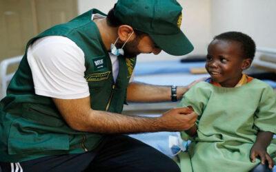 مركز الملك سلمان للإغاثة يختتم حملة مكافحة العمى بالسودان