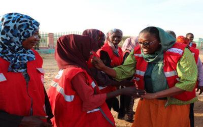 الهلال الأحمر يصل ولاية جنوب كردفان للوقوف على الاحتياجات الإنسانية