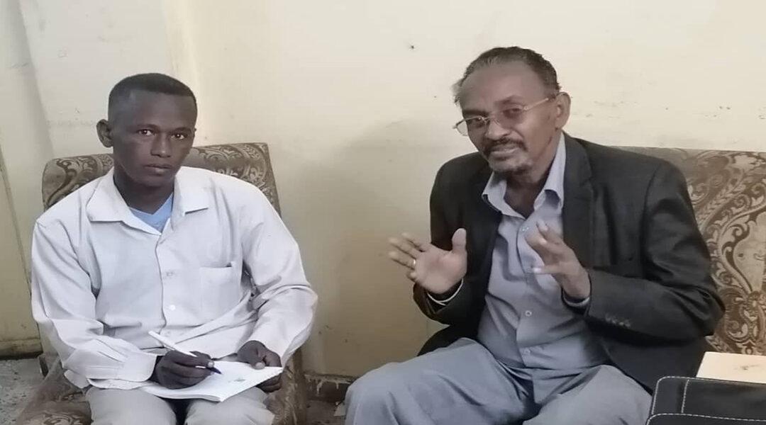 القيادي بشرق السودان الاستاذ/ عبدالرحمن شنقب في ضيافة سودان بوست