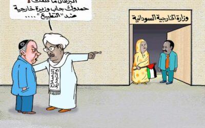 كاريكاتير… بقلم : عمر دفع الله