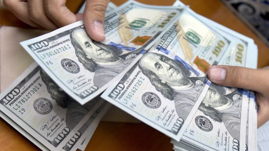 نزول مستمر لسعر الدولار مقابل الجنيه السوداني فى بنك السودان المركزي