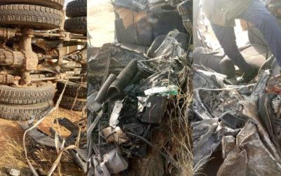 وفاة ملازم من الجيش وآخرين في حادث مروع بشمال دارفور