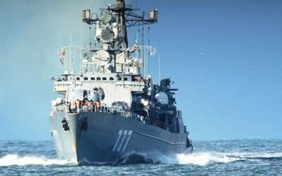 وصول السفينة الحربية الروسية الأولي إلي ميناء بورتسودان
