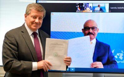 السودان يقدم صكوك مصادقة إلى منظمة العمل الدولية
