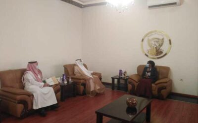 وزيرة الحكم الاتحادي تلتقي السفير السعودي لدي الخرطوم