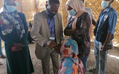 القضارف: تطعيم اللاجئين ضد الكوليرا والحمي الصفراء