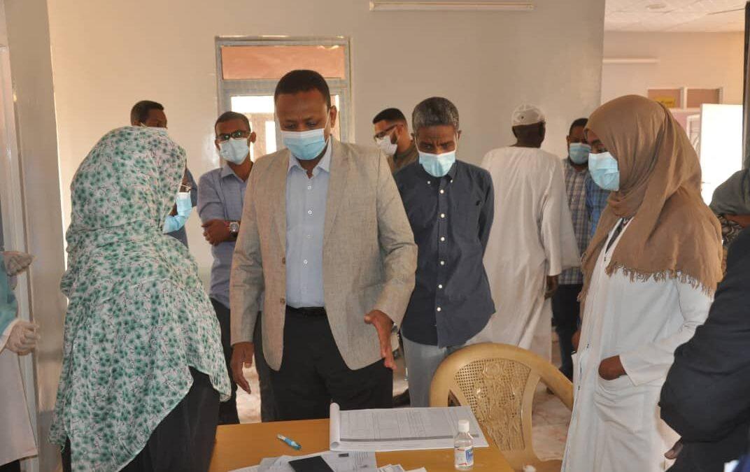 مدير عام صحة الخرطوم يشدد علي حل مشاكل مستشفي الراحجي
