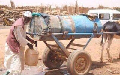 600 جنيه سعر برميل المياه بمدينة الفاشر