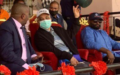 السفير السعودي يشارك في ختام سباق ديربي الخيل