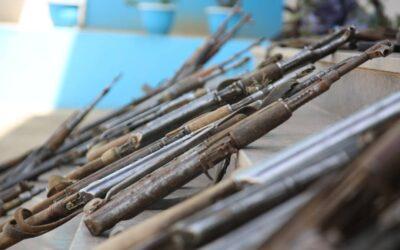 نهر النيل :ضبط عدد كبير من الأسلحة المهربة بالولاية