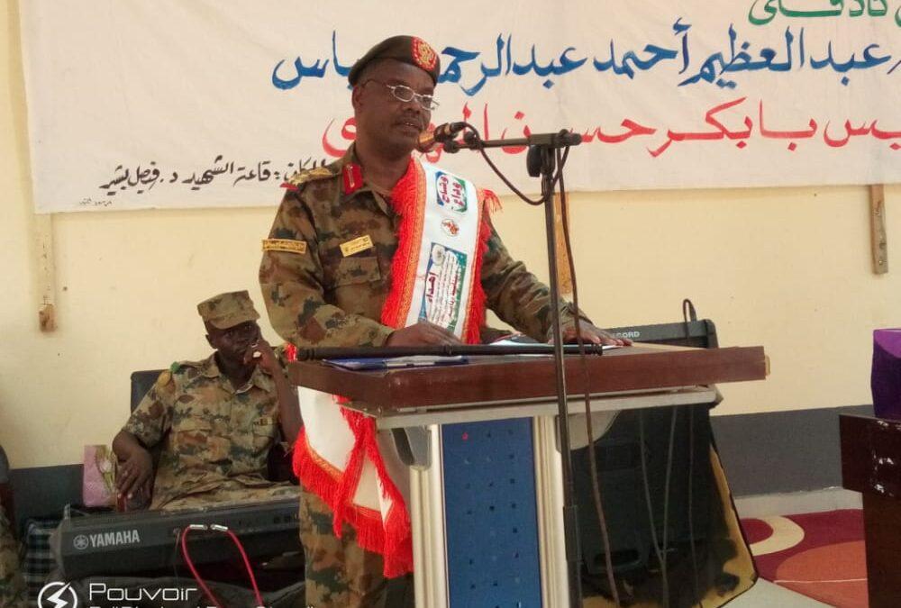 قيادة الفرقة ١٤ مشاة بكادقلي: نهدف لبناء وحفظ السلام