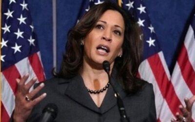 كامالا هاريس نائبة الرئيس بايدن تشكو سيدة هددتها بالقتل