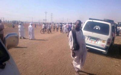 محتجون يغلقون طريق الخرطوم كوستي لمقتل ثلاثة أشخاص