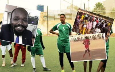 وزير بجنوب السودان يطلق النار لإخراج زوجته من ملعب