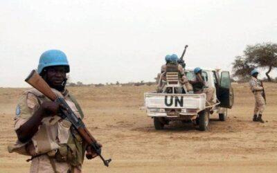 أصابة ٣ من أصحاب القبعات الزرقاء بجروح في مالي