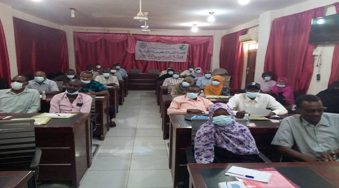 القضارف تستعد لتنفيذ حملة التطعيم ضد كوفيد (19) بالبلدية