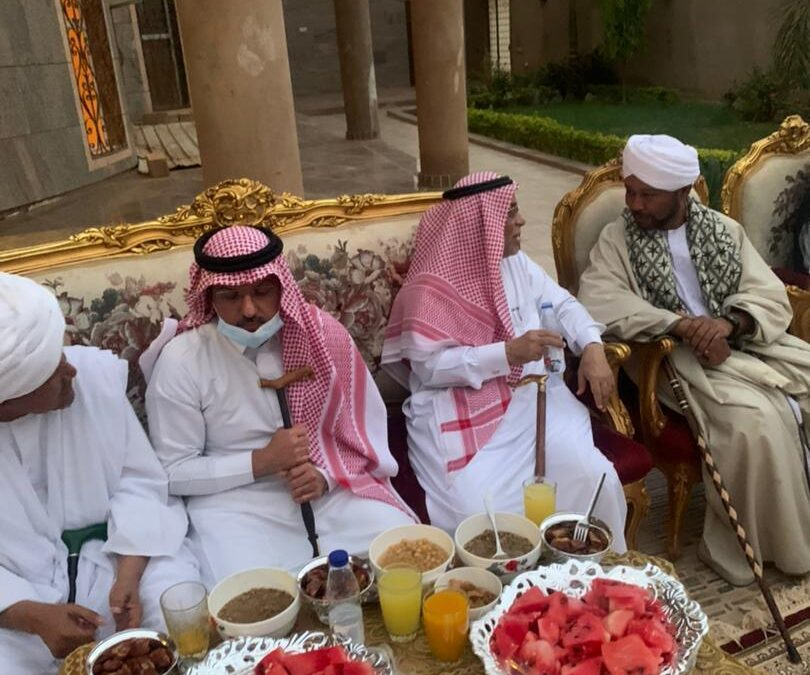 مجلس التصوف يدعو سفير السعودية لإفطار رمضاني
