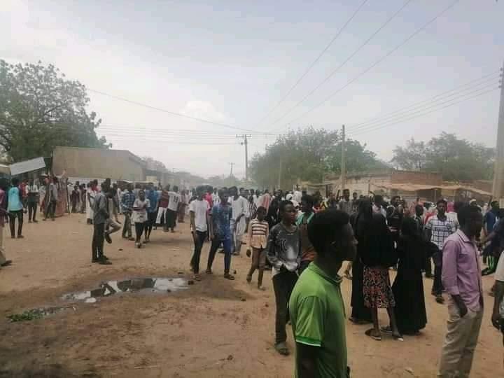 الشرطة تفرق معتصمين في برام بولاية جنوب دارفور