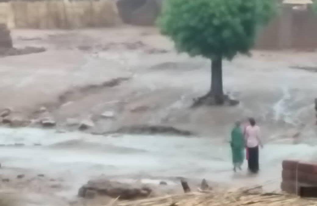 هطول أمطار غزيرة بكادقلي ليومين متتاليين ..