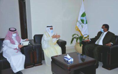 والي الخرطوم يستقبل سفير السعودية ويبحثان العلاقات الثنائية وتعزيزها