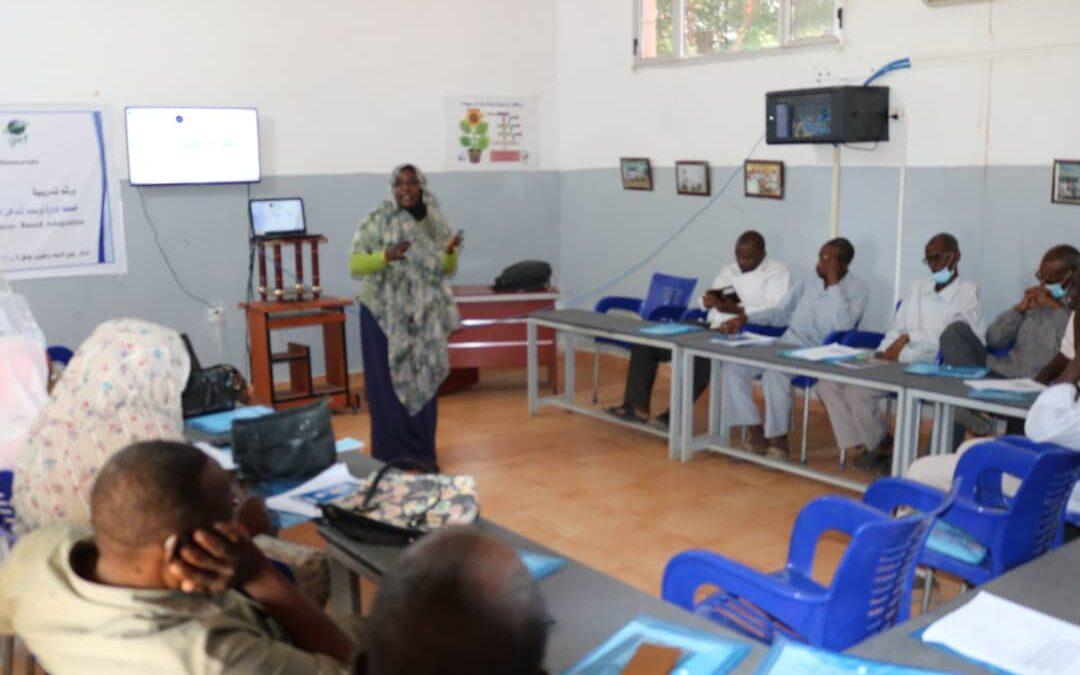 كوستي تحتضن ورشة تدريبية حول رصد التكيف البيئي