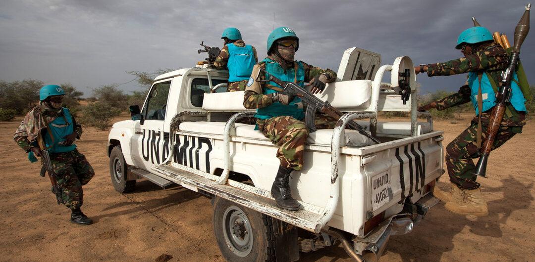 جنود اثيوبيون من اليوناميد في دارفور يرفضون العودة الى بلادهم