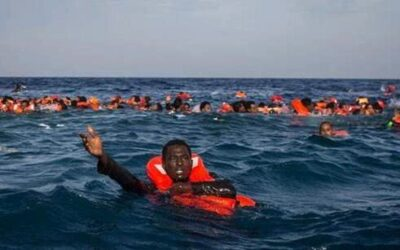حرس السواحل الليبي ينقذ مهاجرين أفارقة غير شرعيين
