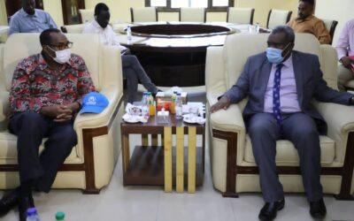 مفوض اللاجئين للقرن الافريقي يناشد المجتمع الدولي لدعم جهود السودان