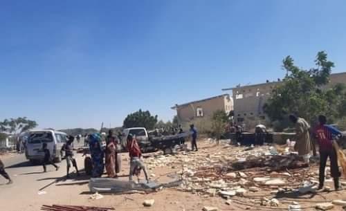مقتل شخصين وجرح اخرين في أحداث نهب وتخريب مقر يوناميد