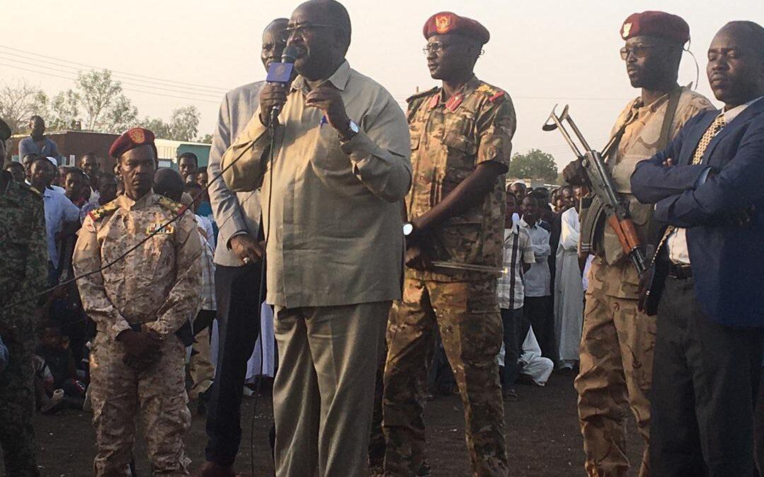رئيس التحالف السوداني : السلام مدخلا لرتق النسيج الاجتماعي