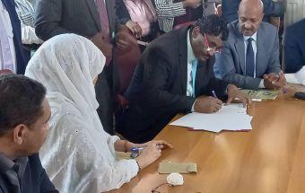 التوقيع على إنشاء معهد تكنولوجيا السكر بالنيل الأبيض