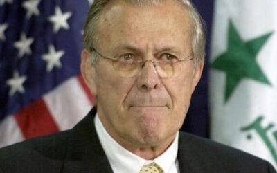 أمريكا: وفاة وزير الدفاع الأميركي الأسبق رامسفيلد