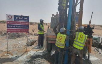 إكمال حفر (222) بئر لمياه الشرب بكردفان ودارفور من قطر الخيرية