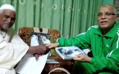 السفير السعودي يزور الكابتن نصر الدين جكسا بمتزله أمس