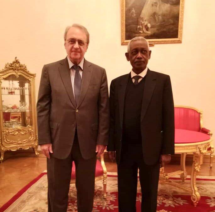 إنعقاد إجتماع الدورة التاسعة للتشاور السياسي بين خارجية السودان وروسيا