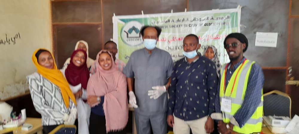 الجمعيةالسودانية لرعاية المسنين تقيم يوم صحي بنادي الخريجين بأم درمان