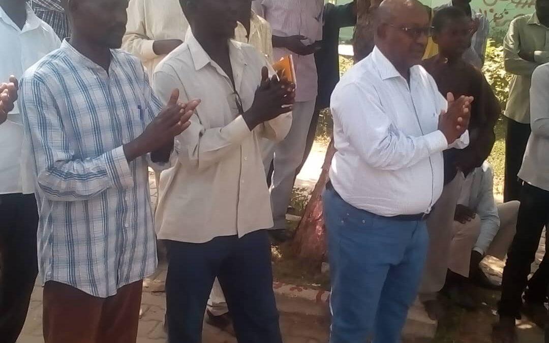 لجنة التفكيك بالدمازين تستقبل مواكب دعم الحكومة المدنية من المحليات