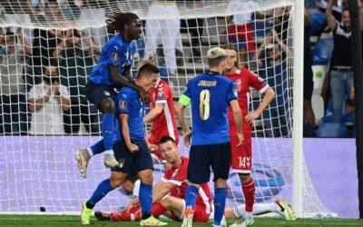 إيطاليا تحقق فوزا كبيرا على لتوانيا فى تصفيات أوربا لكأس العالم