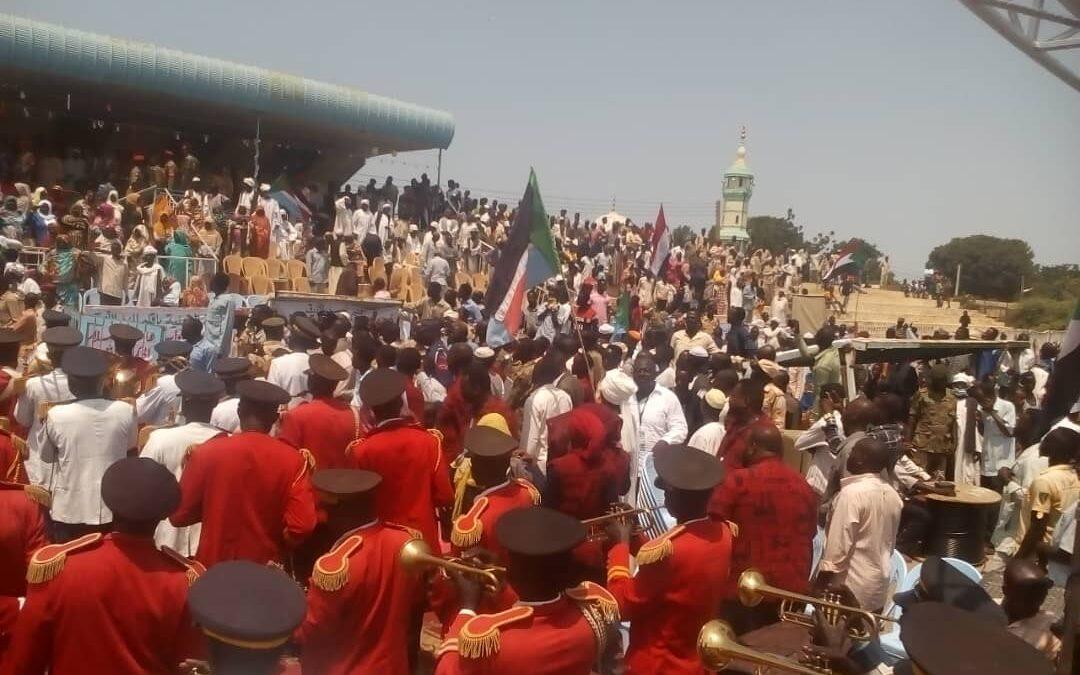 النيل الأزرق تحتفل بمرور عام على إتفاق جوبا لسلام السودان