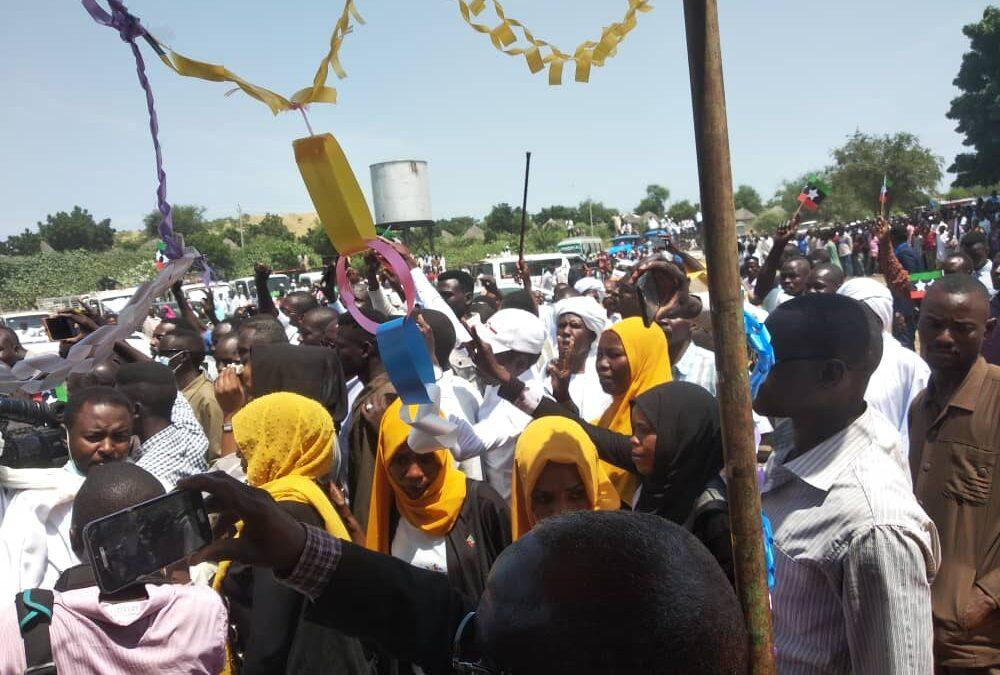 حزمة رسائل فى إتجاهات متعددة من حركة تحرير السودان بالقضارف
